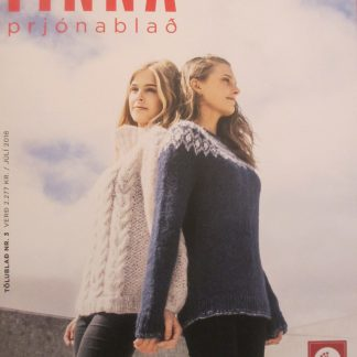 Tinna - prjónablað - júl 2018