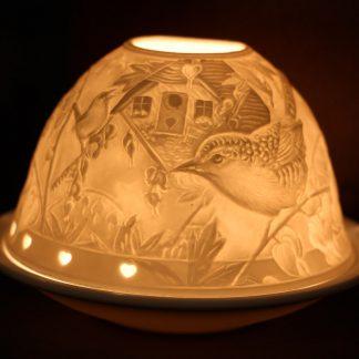 Kærleiksljós - fuglar á grein