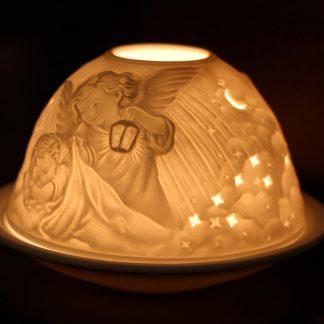 Kærleiksljós - engill og barn