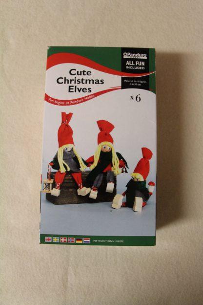 Cute Christmas Elves - jólaföndur